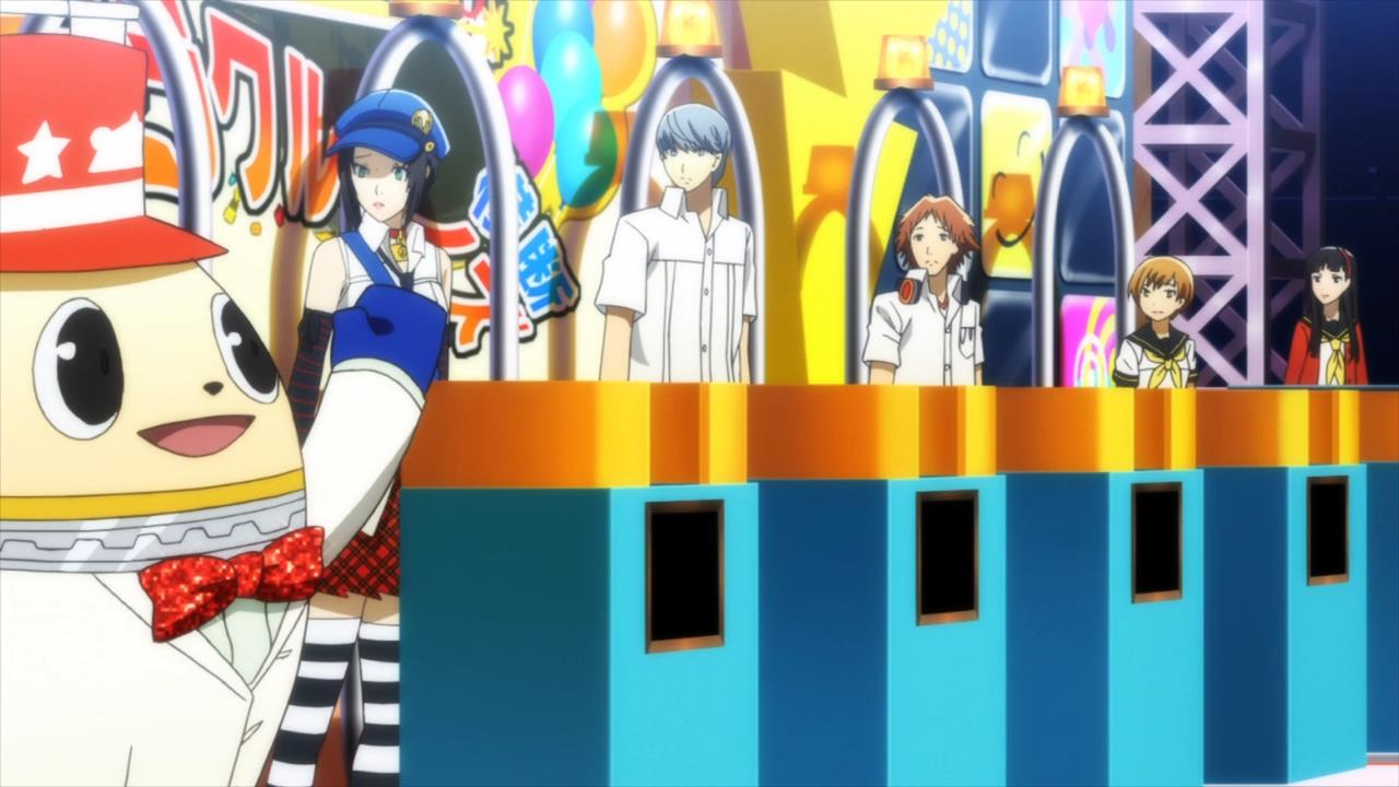 Persona 4 Anime Characters : Persona the golden animation episode