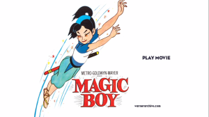Magic Boy dvd screen