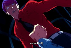 No, that's the other cannibalistic undead.