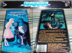Frankenstein Vestron VHS