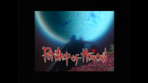 Title Screen os Petshop of Horrors