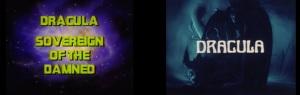 Marvel Toei Dracula Title Screens