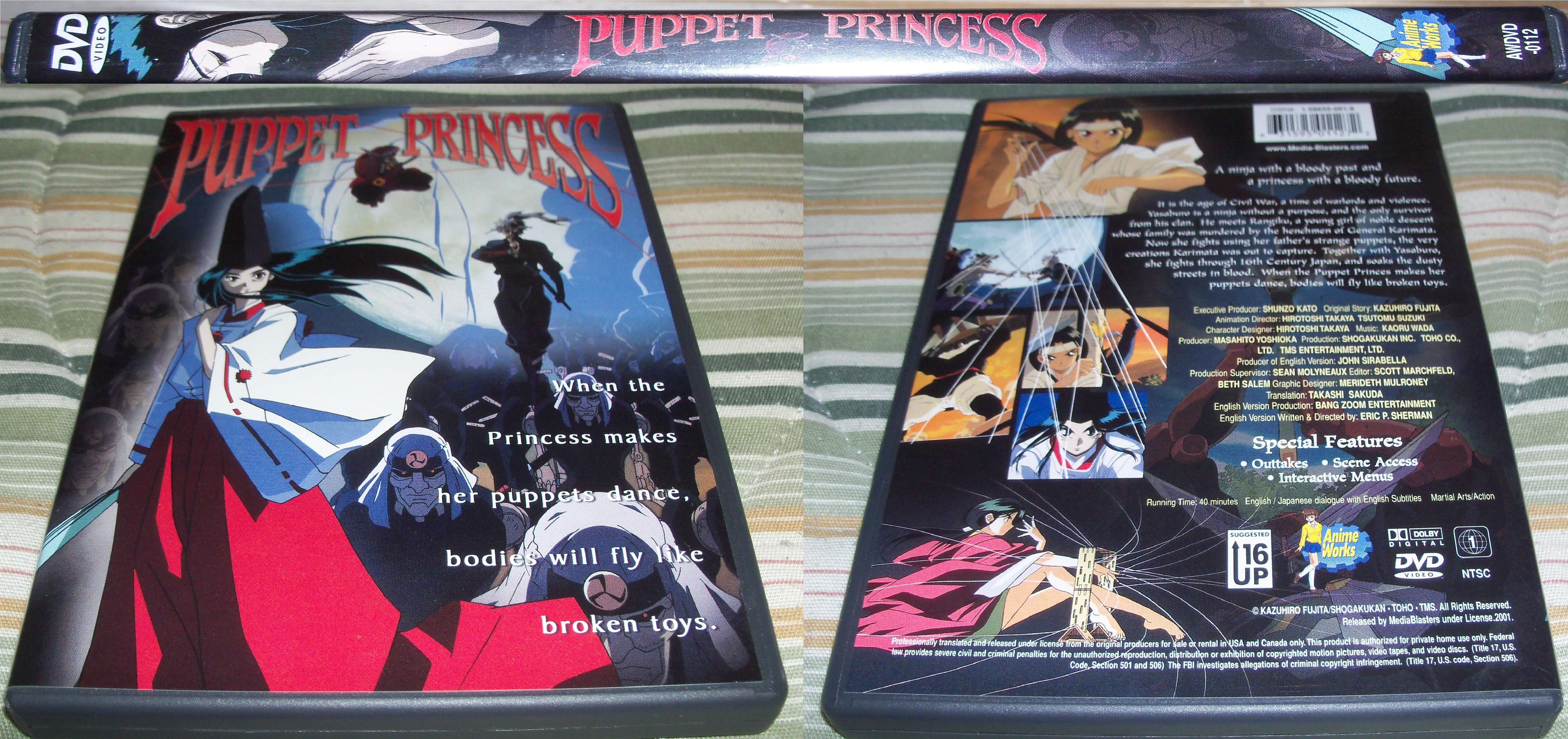 ogy anime reviews  puppet princess  karakuri no kimi
