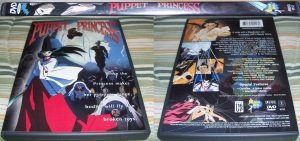 Puppet Princess DVD Case