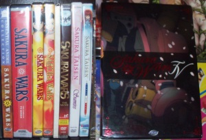 Donjobo's Sakura Wars DVD collection