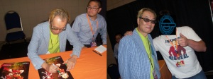 Ouji Hiroi Signing and with Me
