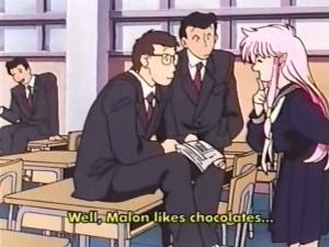 Hmm does Malon like chocolate